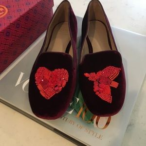NWT Tory Burch Peace Smoking Slippers Size 11!